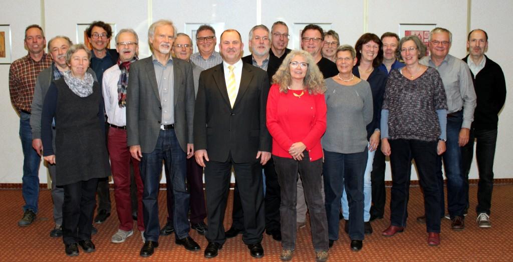 Günter Lenz der vorstand bürgerverein freiburg st georgen e v
