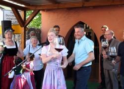 Die badische Weinkönigin