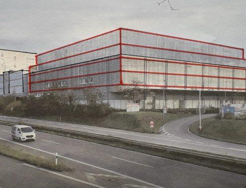 Kritik am OBI-Umbauprojekt Basler Landstraße