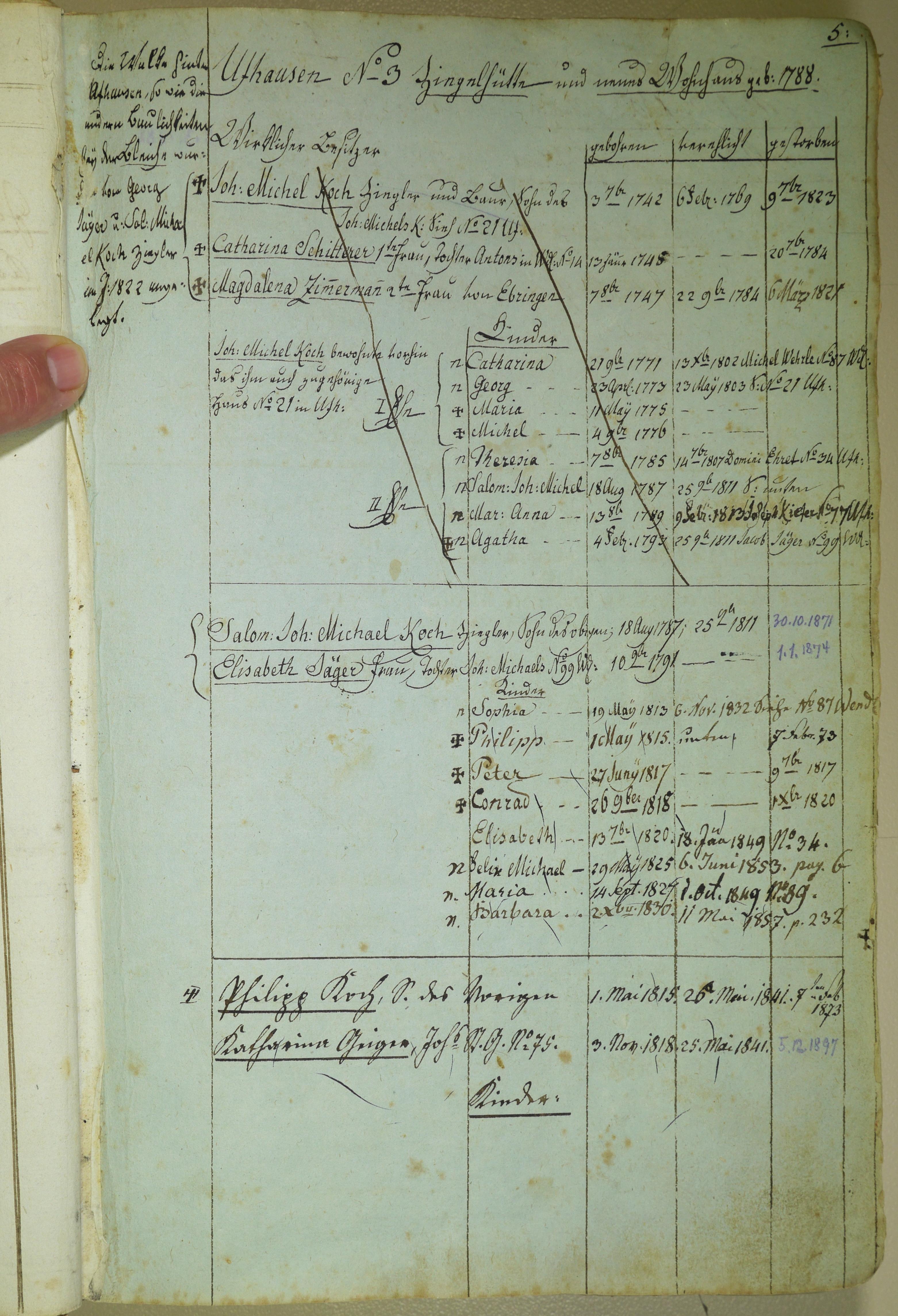 Seite 5 Ufhausen No 3